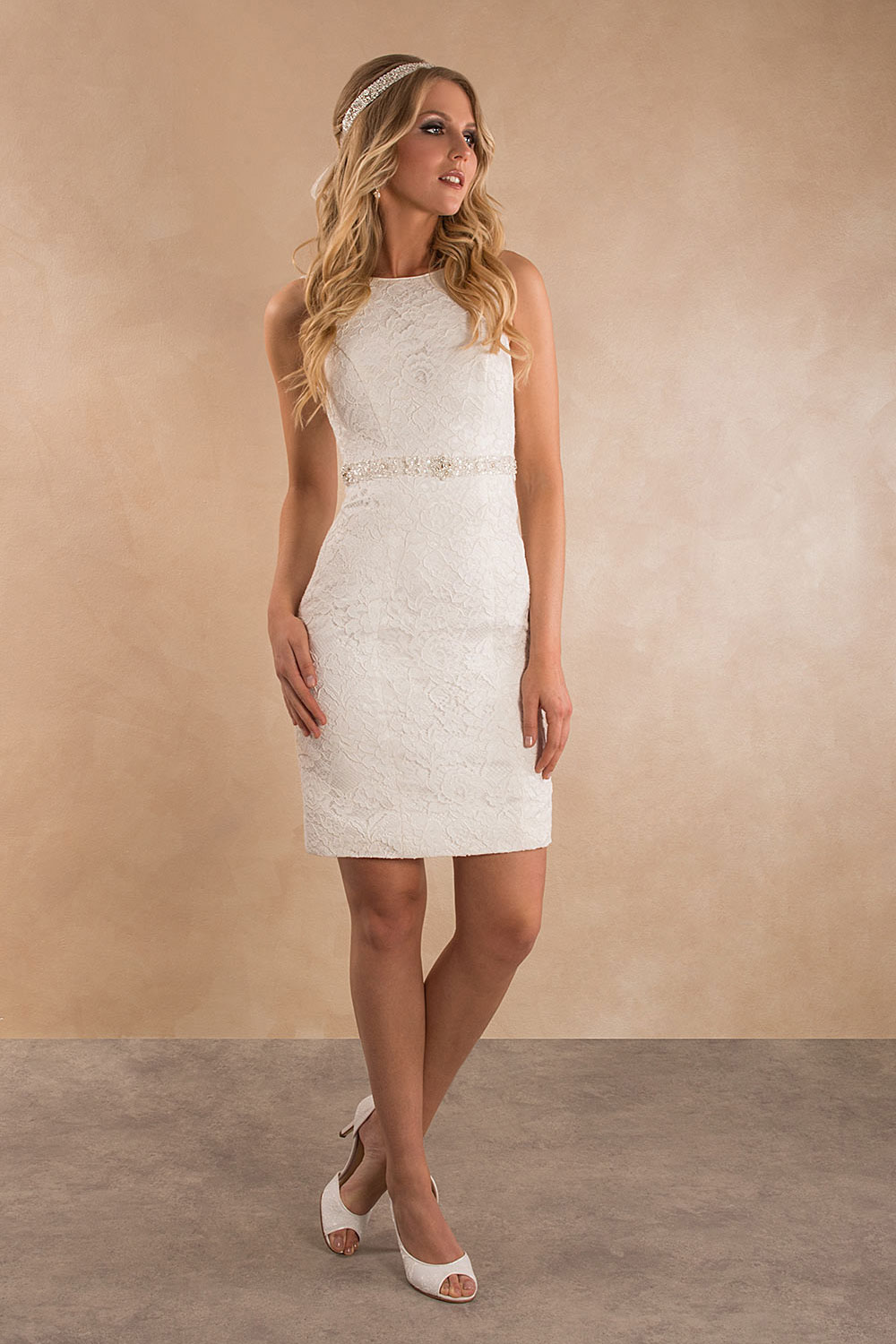 Standesamtkleid A7011 MissGermany-Collection
