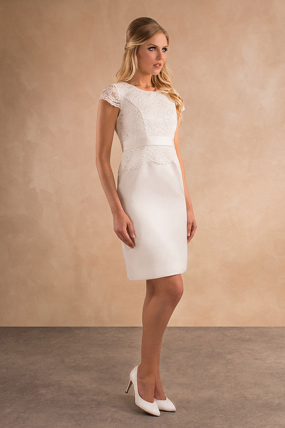 Standesamtkleid A7028 MissGermany-Collection