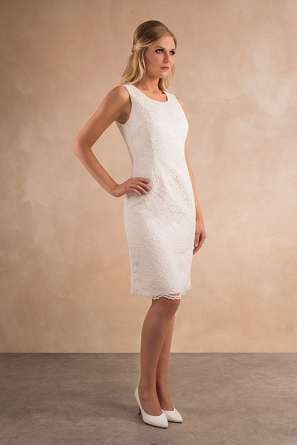Standesamtkleid A7003 MissGermany-Collection