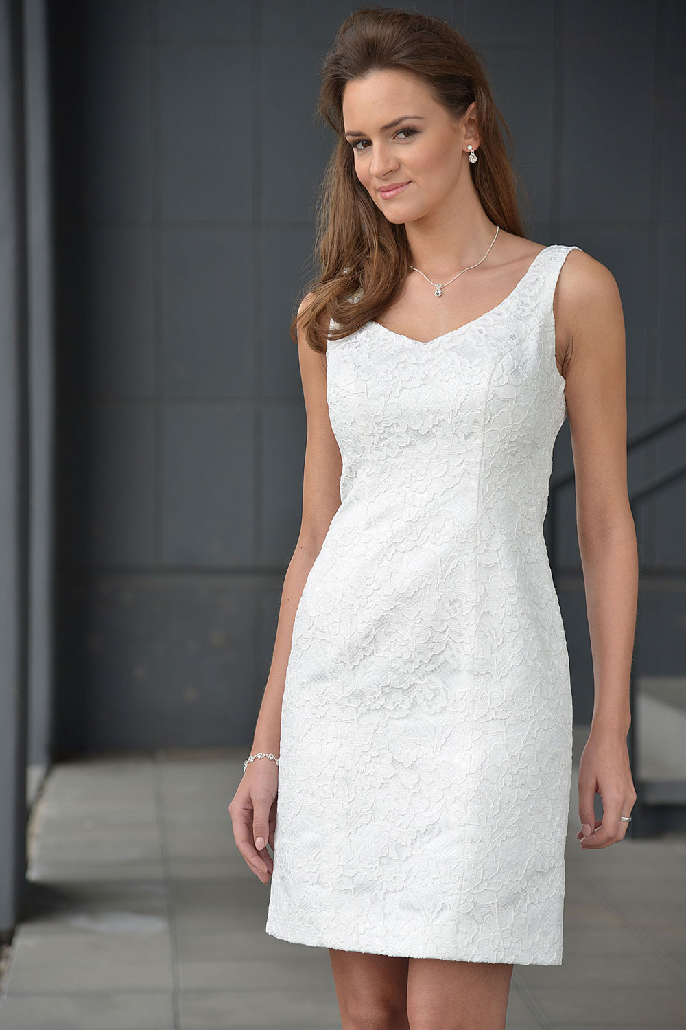 Standesamtkleid A7010 MissGermany-Collection
